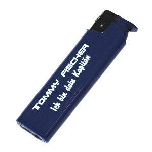 Tommy Fischer - Feuerzeug blau