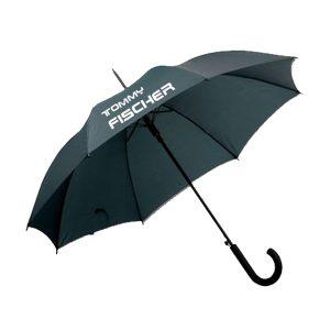 Tommy Fischer - Regenschirm Automatik schwarz