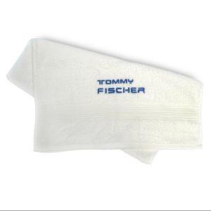Tommy Fischer - Handtuch weiß