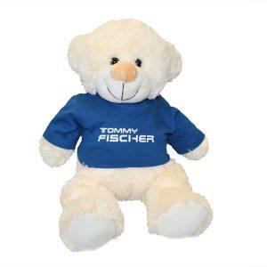 Tommy Fischer - Teddy weiß ca. 35cm