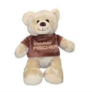 Tommy Fischer - Teddy weiß ca. 24cm