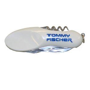 Tommy Fischer - Taschenmesser weiß