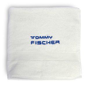 Tommy Fischer - Badetuch weiß