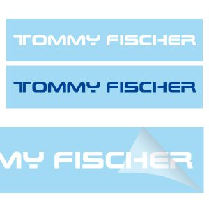 Tommy Fischer - Autoaufkleber groß