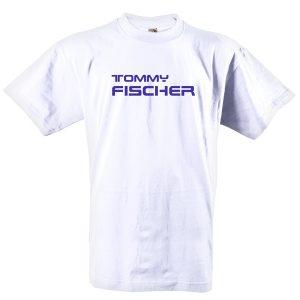 Tommy Fischer - T- Shirt weiss