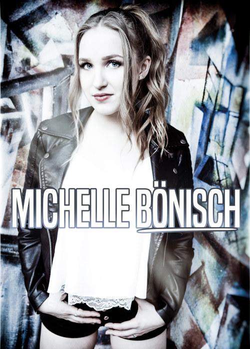 Michelle Bönisch-Autogrammkarte Ultraleicht