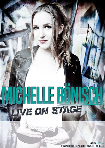 Michelle Bönisch-DIN A2 Plakat  (Live on Stage)